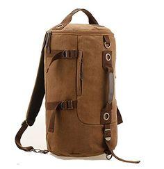 Whatland Portable Canvas Backpack Rucksack Travel Outdoor Laptop Hiking Luggage Gym Satchel Bag Duffle Whatland http://www.amazon.com/dp/B00LY9PPOC/ref=cm_sw_r_pi_dp_CPJ7tb192RSCC