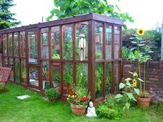 Pergola With Retractable Canopy Kit Backyard Greenhouse, Greenhouse Plans, Pergola Plans, Diy Pergola, Simple Greenhouse, Homemade Greenhouse, Pergola Kits, Pergola Ideas, Cold Frame
