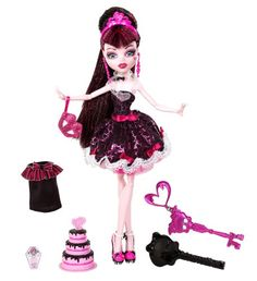 Mattel Monster High Sweet 1600 Draculaura Doll - Mattel W9189. http://www.amazon.com/dp/B0063NLRSC/?tag=icypnt-20