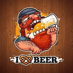 Man Loves Beer by Voysla Beer Cartoon, Graffiti Wallpaper Iphone, Beer Shop, Beer Poster, Beer Art, Airplane Art, Hip Hop Art, Beer Signs, Beer Brewing