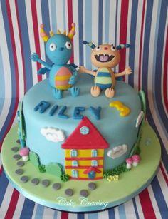 Henry Hugglemonster cake - Henry Hugglemonster cake