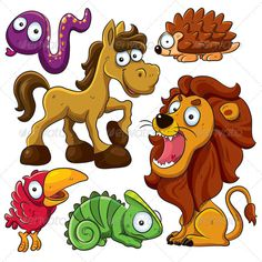 Realistic Graphic DOWNLOAD (.ai, .psd) :: http://jquery-css.de/pinterest-itmid-1000968314i.html ... Animals Collection ...  adorable, animal, bird, cartoon, chameleon, character, cute, hedgehog, horse, illustration, lion, mammals, reptile, snake, sweet, toucan, vector, wild, young  ... Realistic Photo Graphic Print Obejct Business Web Elements Illustration Design Templates ... DOWNLOAD :: http://jquery-css.de/pinterest-itmid-1000968314i.html