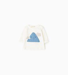 Afbeelding 1 van T-shirt met berg van Zara
