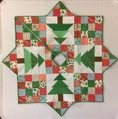 Christmas Sewing, Christmas Projects, Christmas Diy, Christmas Wreaths, Christmas Ornaments, Christmas Quilting, Christmas Bells, White Christmas, Crochet Christmas