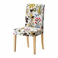 HENRIKSDAL Chair, birch, Blomstermla multicolour 899.256.39 - Korean Online Shopping, 11Street