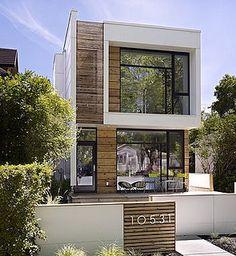 fachada-de-casa-moderna-de-dos-pisos by danieleralte, via Flickr