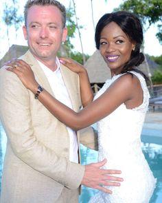 Gorgeous interracial couple wedding photography in Tanzania  #love #wmbw #bwwm #swirl