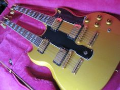 Gibson Custom Shop EDS-1275 / Metallic Gold