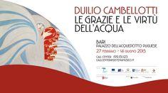 Puglia eco sostenibile: Duilio Cambellotti. Le grazie e le virtù dell'acqua