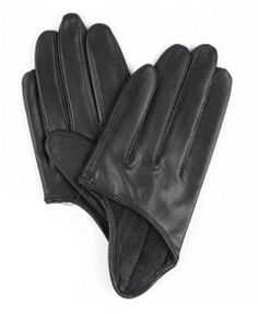 Leather Half Palm Gloves