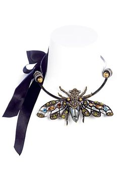 Lanvin Spring 2011 Accessories    Insect fly necklace