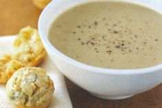Super easy and absolutely delicious, this cream of cauliflower soup is bound to please.