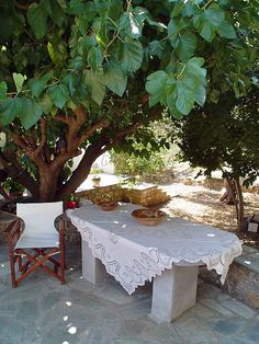 "Skopelos island - ""Marlitsis"" rooms to let - Garden area"