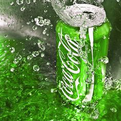 Coca Cola in the Green by SaphoPhotographics on DeviantArt Green Coke, Neon Green, Green Colors, Colours, Dark Green Aesthetic, Aesthetic Colors, Aesthetic Pictures, Green Wallpaper, Wallpaper Iphone Cute