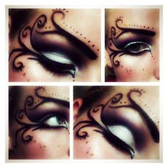 Steampunk makeup ❤ liked on Polyvore featuring beauty products and makeup