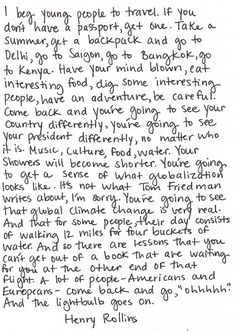 Love this! Get a backpack and go! #travel