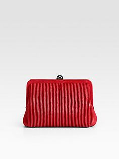 Reed Krakoff Ruched Leather Pouchette