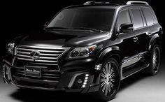 Wald International Lexus LX Sports Line Black Bison Edition