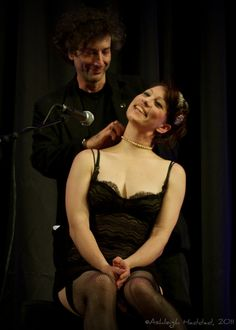 Amanda Palmer and Neil Gaiman being a happily married couple.