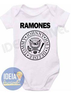 Body Infantil Ramones