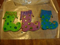 Uniquely Awesome GIANT Elf Stocking Cookies by UniquelyAwesome, $11.25
