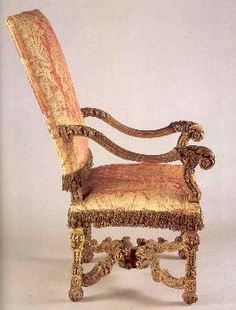 Antique French Louis XIV Walnut Fauteuil #french #furniture ...