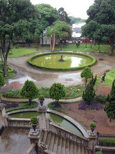 Jardim da Pinacoteca.