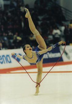 Olga Kapranova (Russia), European Championships (Moscow ... Alina Kabaeva Gymnastics