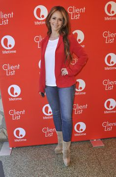 Jennifer Love Hewitt at Lifetime's 'The Client List' Valentine's Day Event in Los Angeles.
