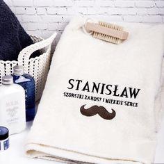 Personalizowany ręcznik WĄSACZ