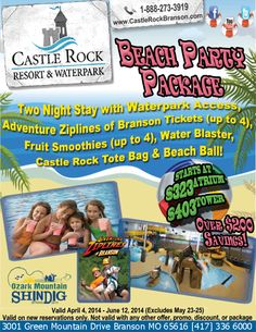 Castle Rock Resort Waterpark Castlerockresor On Pinterest