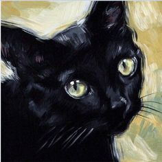 $4.31 - On Sale Gift Diy 5D Diamond Painting Black Cat Cross Stitch Oil Painting Animal #ebay #Home & Garden