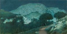 View Moonlight Capri by Charles Caryl Coleman on artnet. Browse upcoming and past auction lots by Charles Caryl Coleman. Nocturne, A4 Poster, Poster Prints, Art After Dark, Forest Art, Dark Forest, Capri, Moonlight Painting, Old Master