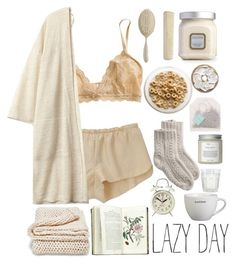 A fashion look from March 2015 featuring Vanessa Bruno panties, Eberjey bras and Toast socks. Browse and shop related looks. Cute Pjs, Cute Pajamas, Classy Aesthetic, Aesthetic Clothes, Lounge Outfit, Lounge Wear, Swag Outfits, Fashion Outfits, Cute Lazy Outfits