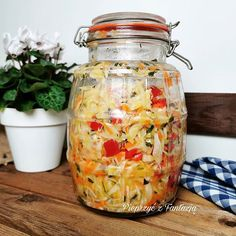 Calzone, Coleslaw, Preserves, Jar, Cooking, Recipes, Decor, Canning Jars, Sprouts