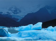 Icy blue. Credit: Juan Pablo Moreiras/FFI.