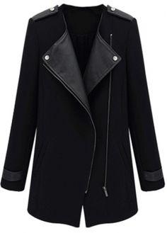 Black Contrast Jacket
