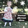Holiday Pillowcase Dress Tutorial