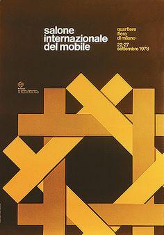 salone poster 1978, Alberto Longhi.