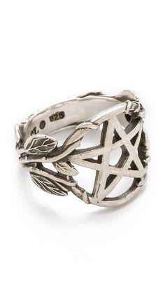Pamela Love Pentagram Ring (sterling silver)