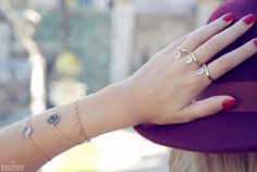 Gold Moon ring by BoutiqueMinimaliste on Etsy, $10.00