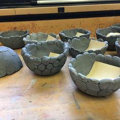 4th grade clay bubble bowls #elementaryart #elementaryartteacher #clay #clayproject #fourthgrade
