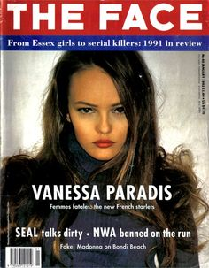 The Face Magazine, Vanessa Paradis
