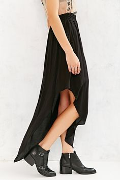 Ecote Rayon Asymmetrical Chelsea Skirt - Urban Outfitters