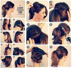 saç modeli resimli anlatım