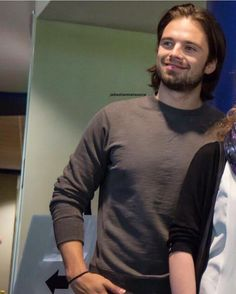 Some #beefybucky to brighten up your Tue.  (Pic found cropped. #allcredittoowner )  .  #sebastianstan #nasa #themartian #wintersoldier #buckybarnes #civilwar #infinitywar #captainamerica