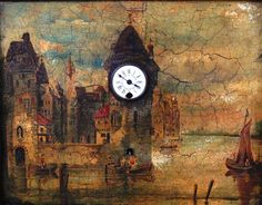 782 - An early 20th century Austrian picture clock