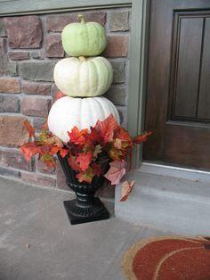 Outdoor Thanksgiving Decor