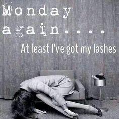 Monday again but my lashes are rockin' https://www.youniqueproducts.com/lashlashbabypartylounge