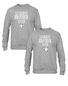 LUCKIEST BROTHERS EVER Couple - Couple Sweatshirt